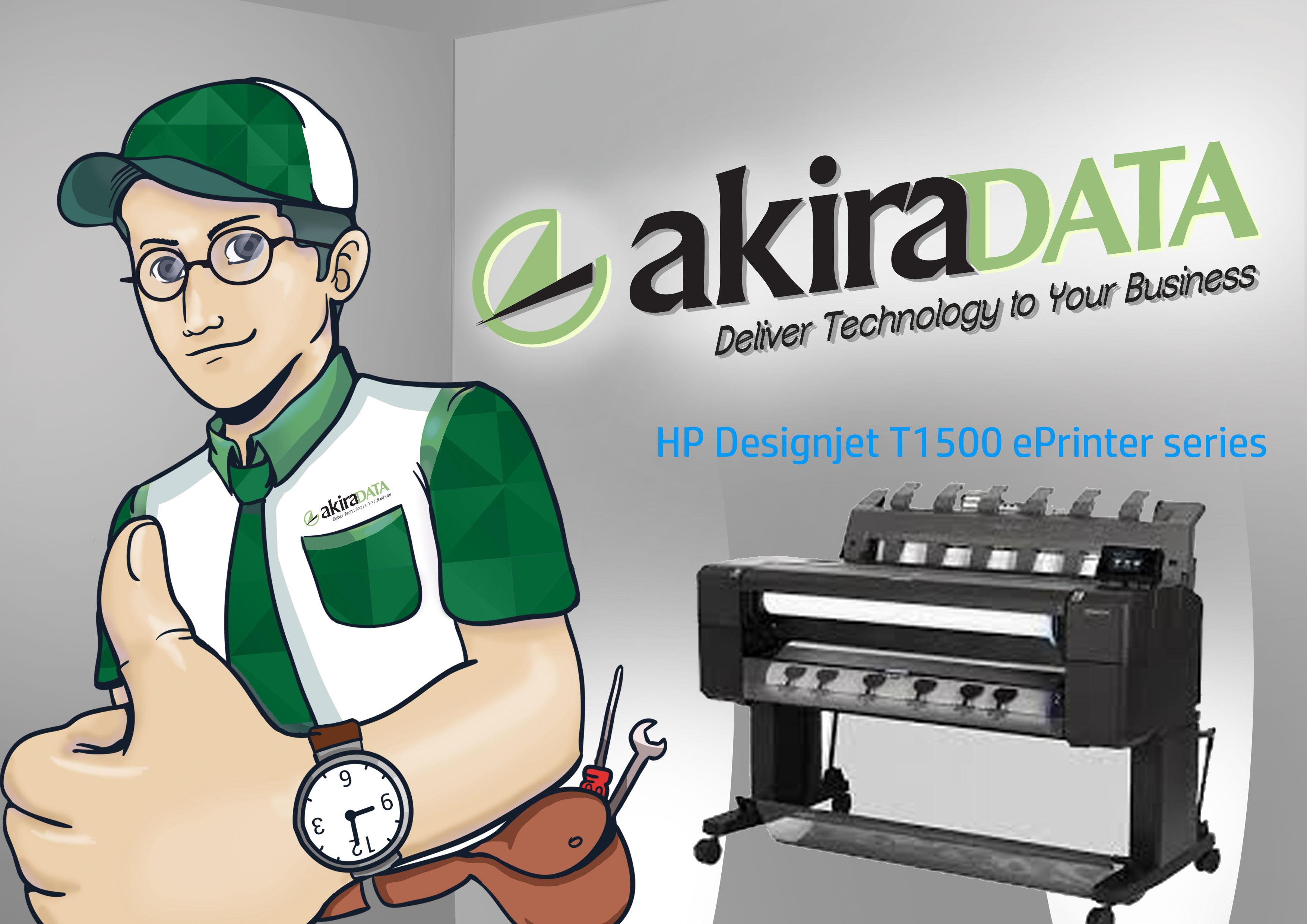 service plotter HP Designjet T1500 ePrinter series