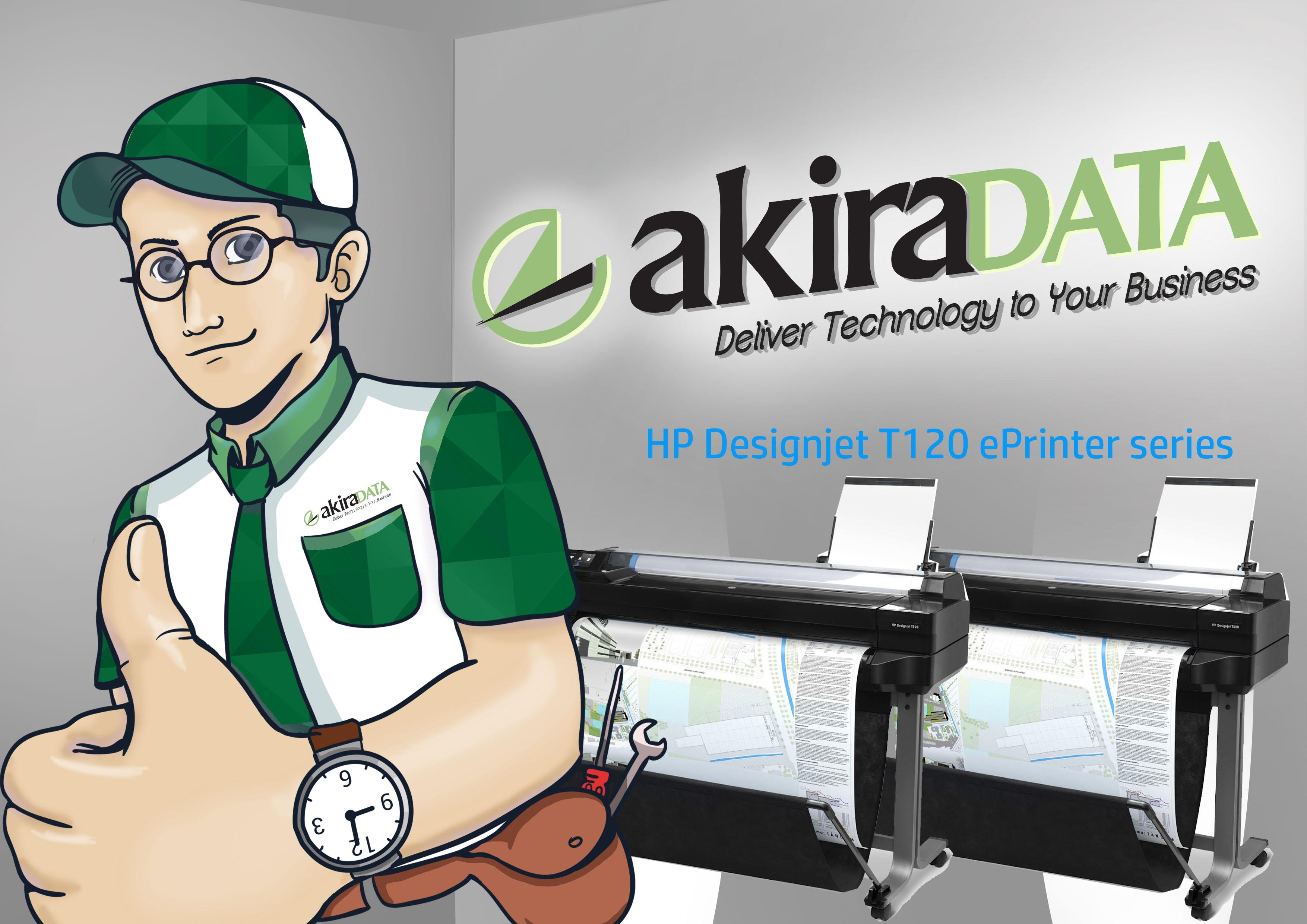 service plotter HP Designjet T520 ePrinter series
