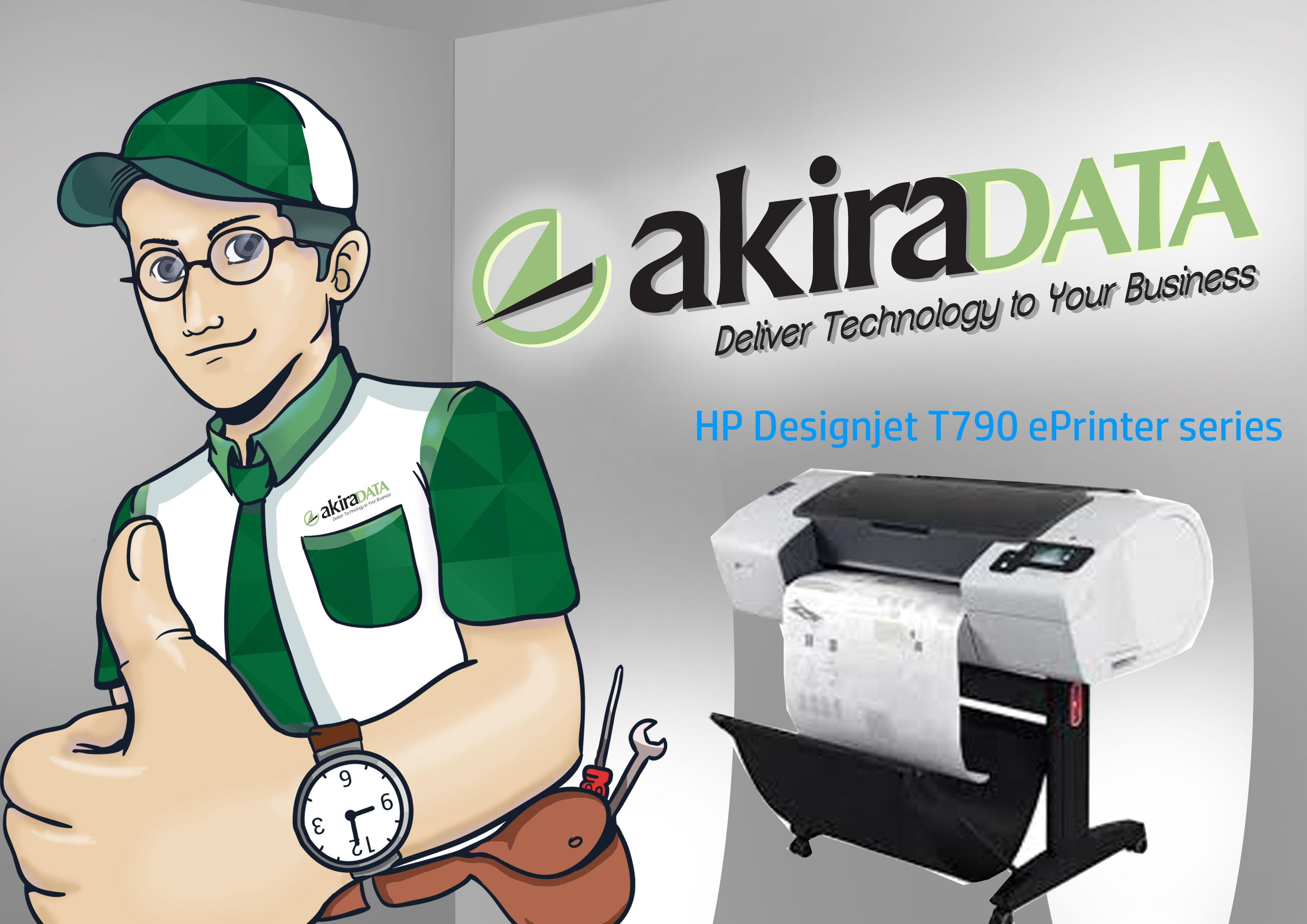 service plotter HP Designjet T790 ePrinter series